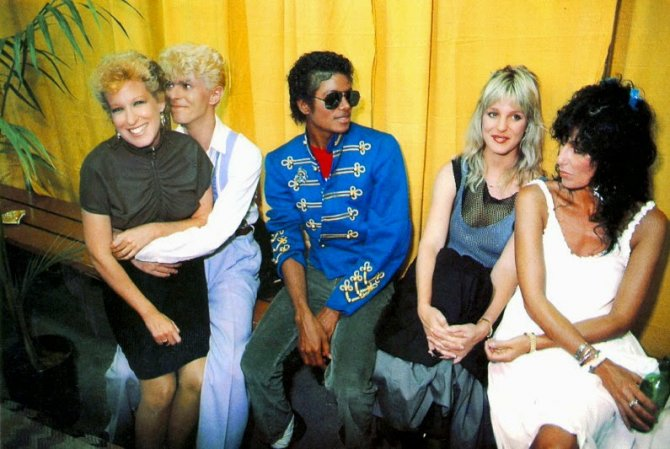 Michael Jackson Hanging Out with His Famous Friends (9)