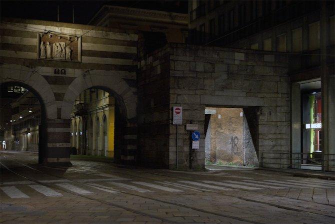 Archi di Porta Nuova, Milano