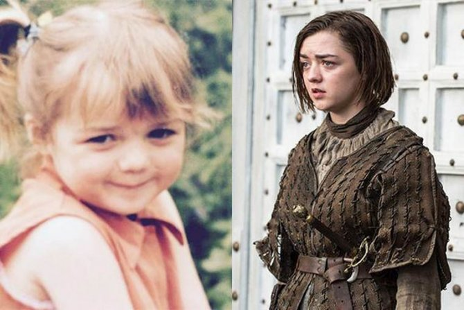 childhood pictures game of thrones 7