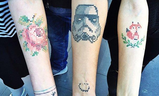 cross stitching tattoos eva krbdk daft art turkey 1