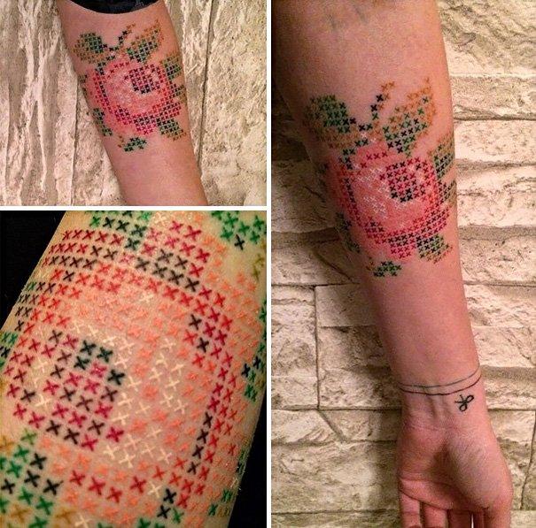cross stitching tattoos eva krbdk daft art turkey 12