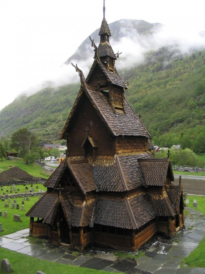 fairy tale viking architecture norway 1 880
