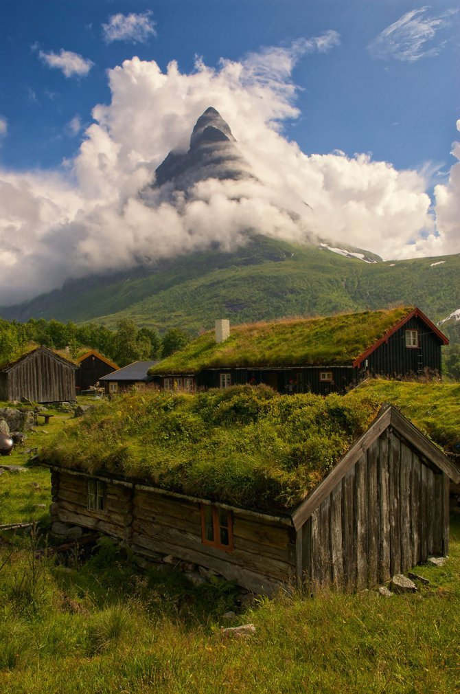 fairy tale viking architecture norway 2 880