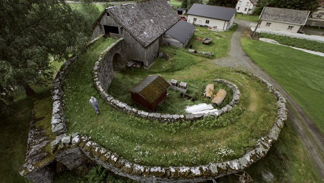 fairy tale viking architecture norway 3 880