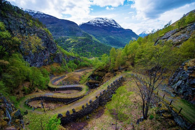 fairy tale viking architecture norway 7 880