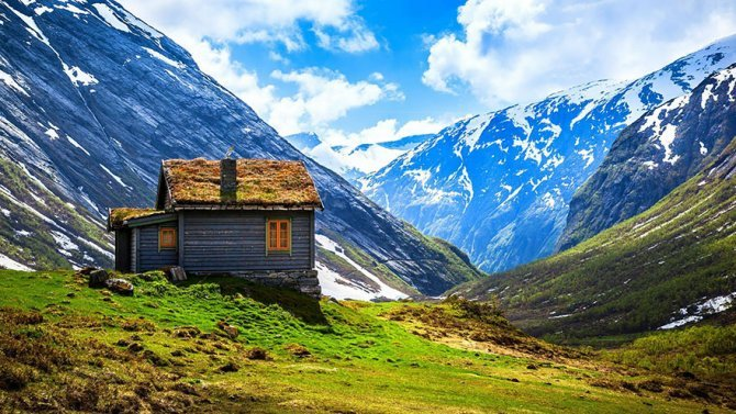 fairy tale viking architecture norway 8 880