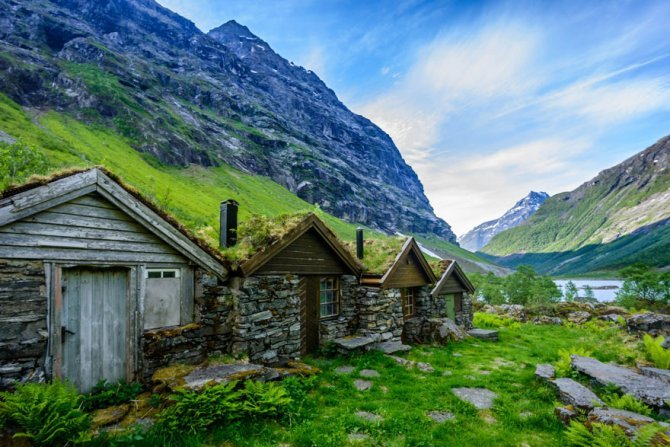fairytale architecture norway 2 880
