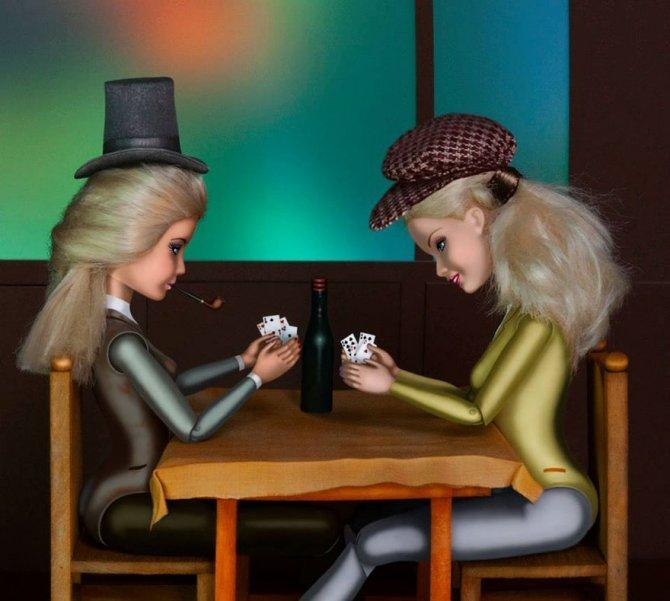 masters paintings barbie dolls 18