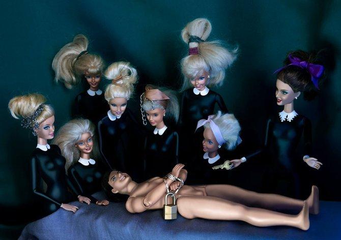 masters paintings barbie dolls 29