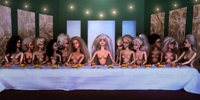 masters paintings barbie dolls 30