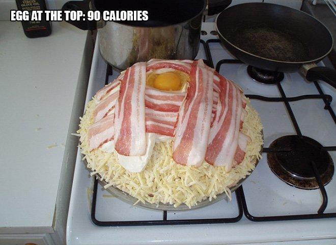 pizza calorie 12