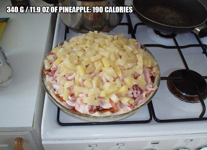 pizza calorie 7
