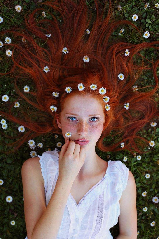 redhead women portrait photography maja topcagic 1