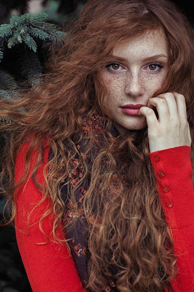 redhead women portrait photography maja topcagic 2
