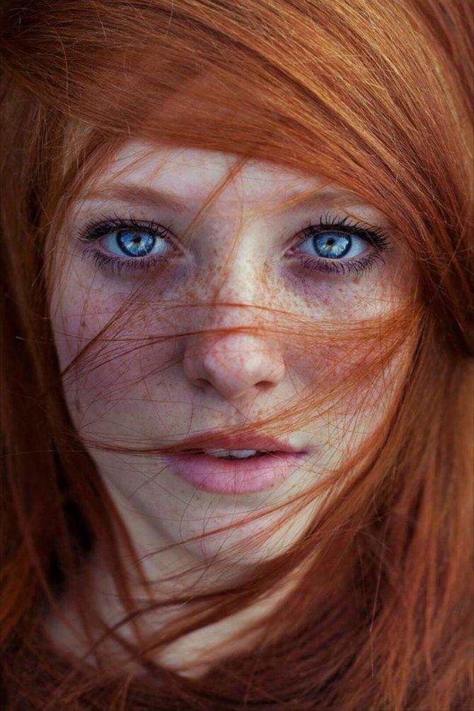 redhead women portrait photography maja topcagic 4