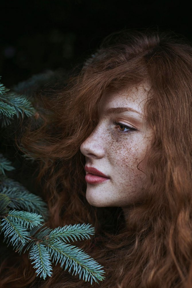 redhead women portrait photography maja topcagic 6