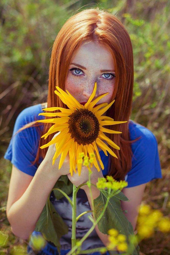 redhead women portrait photography maja topcagic 7