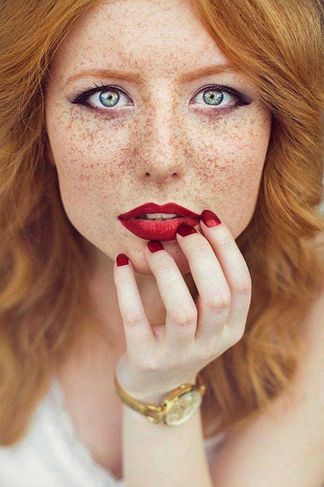 redhead women portrait photography maja topcagic 9
