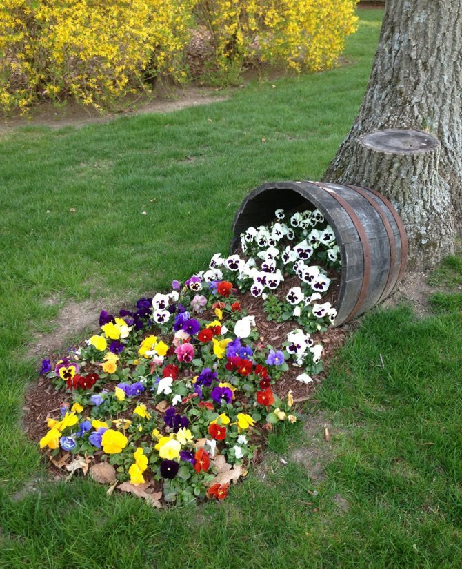 spilled flowers garden ideas 15 880