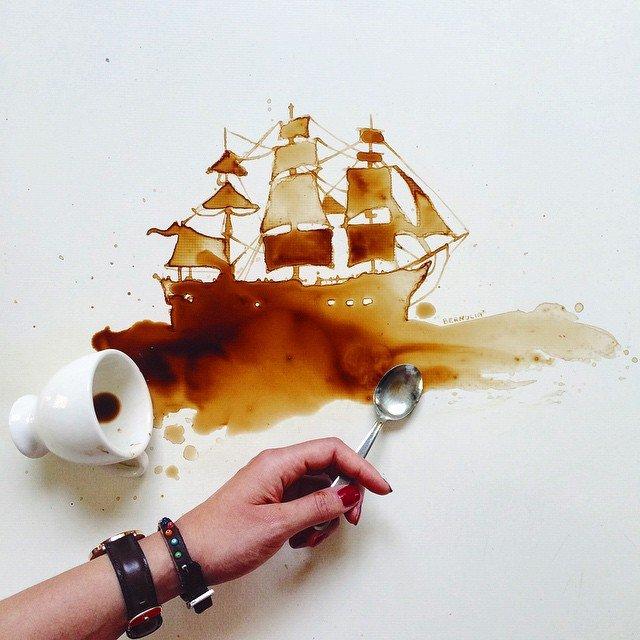 disegni caffe 1