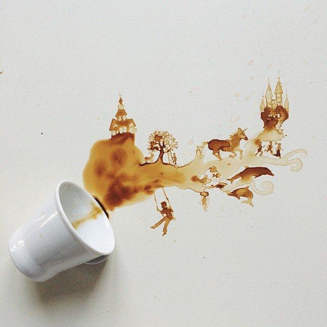 disegni caffe 5