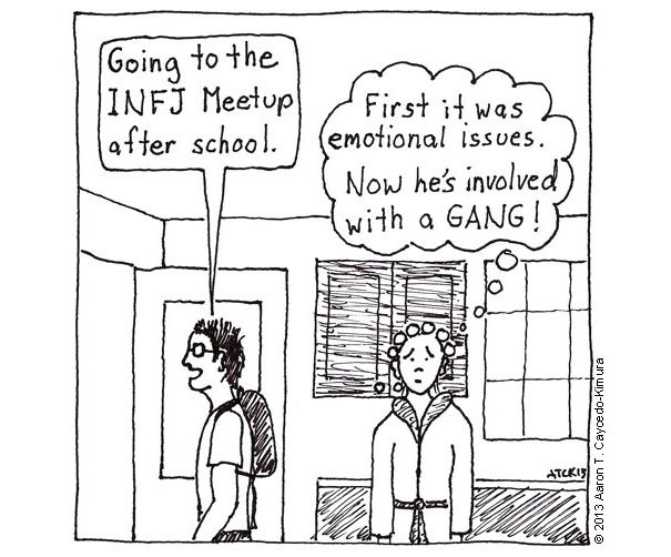 I Cartoon about My Introversion and Myers Briggs Type INFJ27 605