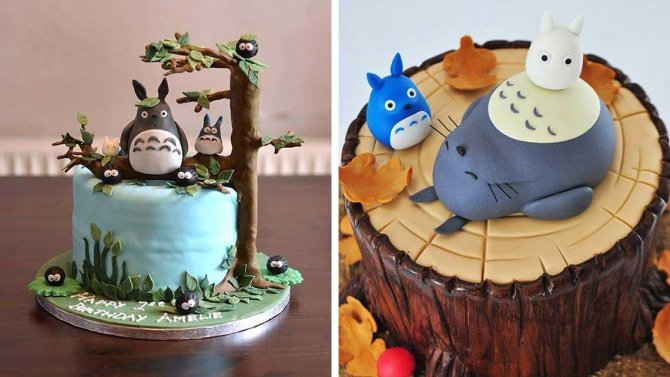 Youll Fall In Love With These Cute Totoro Cakes