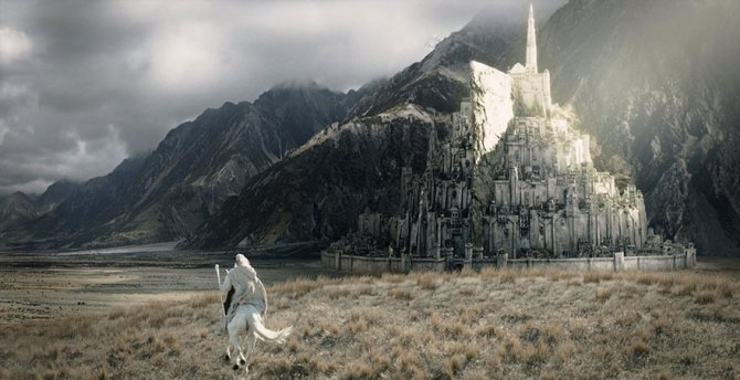 lord ring minas tirith city crowdfunding jonathan wilson 9