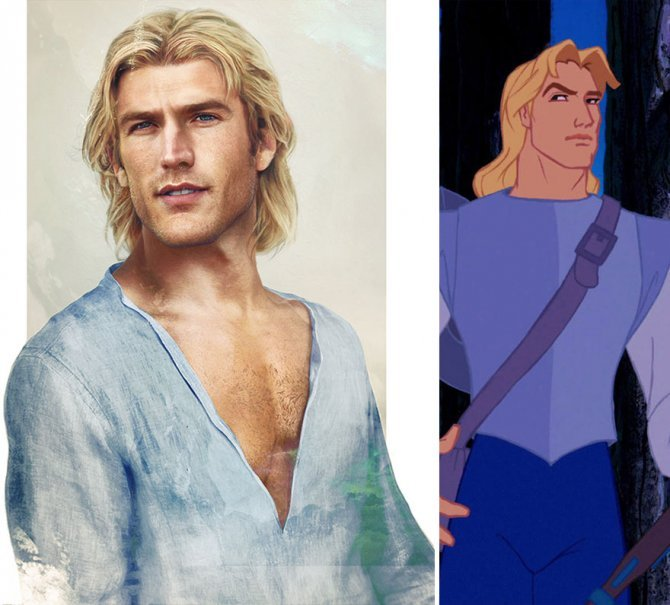 real life like disney princes illustrations hot jirka vaatainen 101