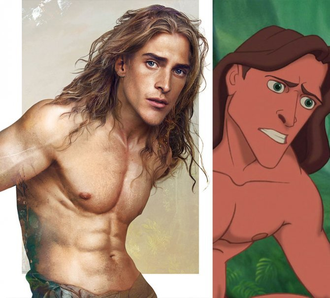 real life like disney princes illustrations hot jirka vaatainen 121