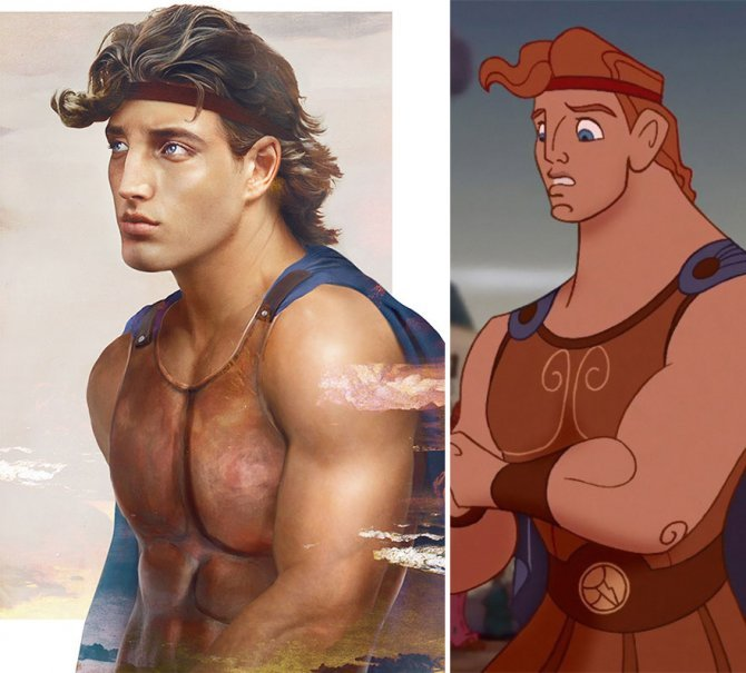 real life like disney princes illustrations hot jirka vaatainen 91