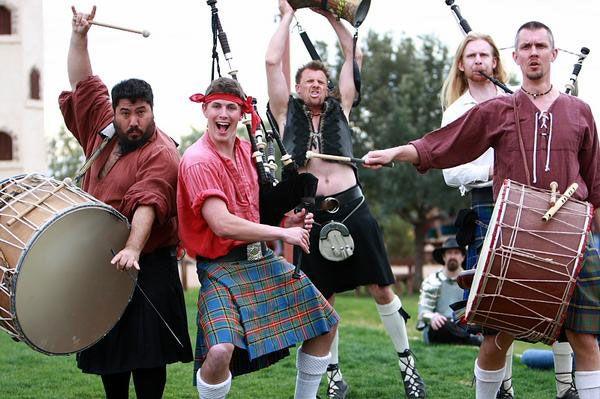 tartanic renaissance fair band musica