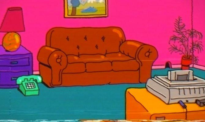 Il divano più famoso di Springfield