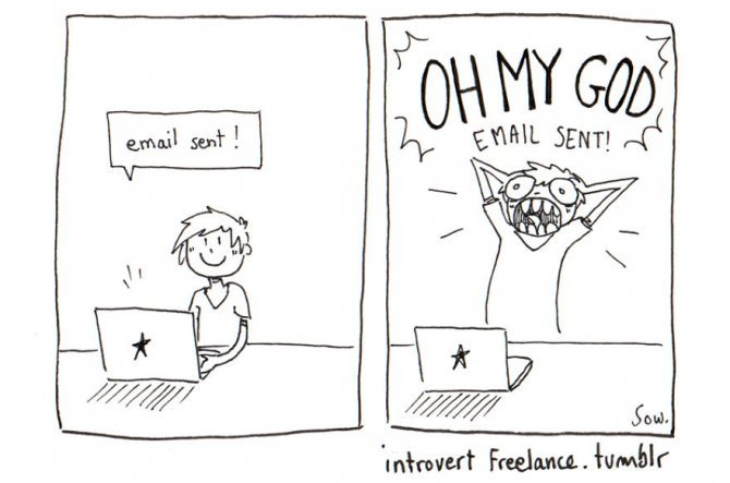 The daily struggle of an introvert and anxious freelance2 880