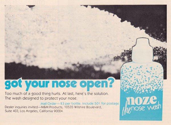 cocaina pubblicità 1