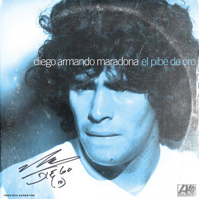 """Diego Armando Maradona - """"El Pibe de oro"""""""