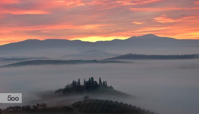 San quirico d'orcia, provincia di Siena