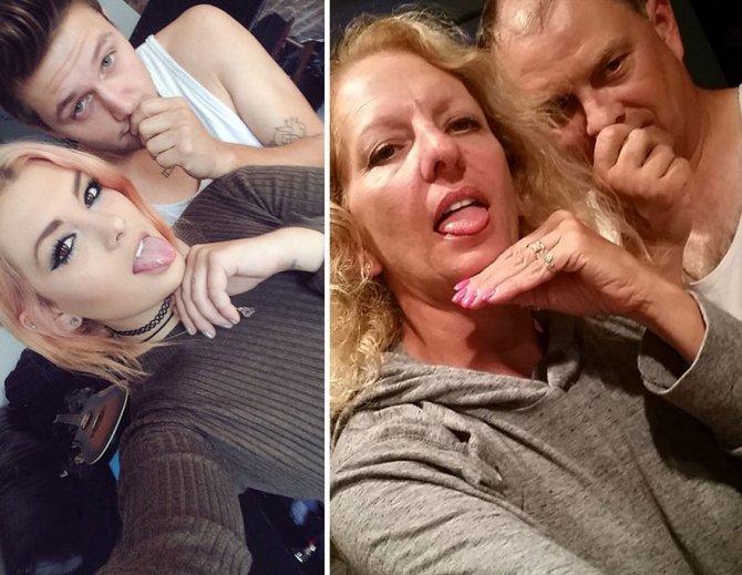 genitori troll figlia e boyfriend 3