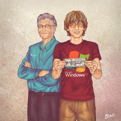 Bill Gates prima o dopo
