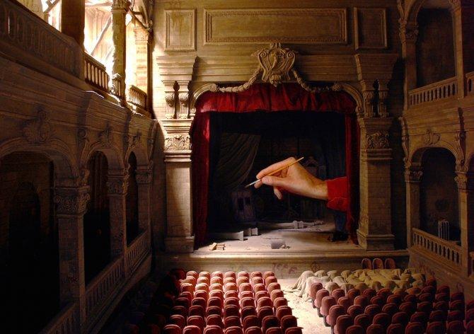 Le théâtre de Cupidon Miniature de Dan Ohlmann