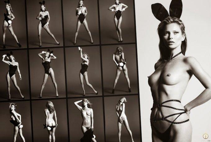 Playboy US January February 2014 Kate Moss 06