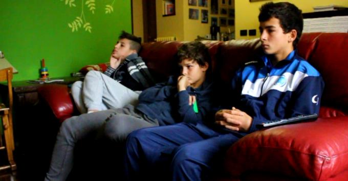 Cristian, Luca e Raffaele