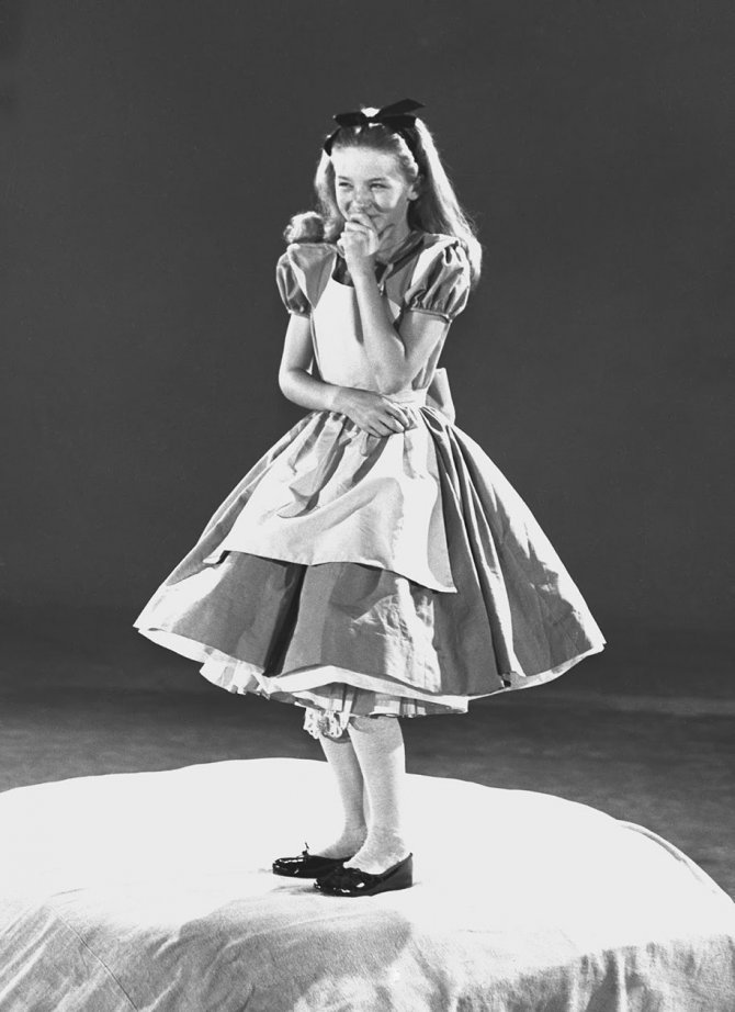 alice in wonderland behind the scenes animators kathryn beaumont 18