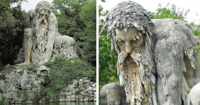 Il Colosso dell'Appennino, il meraviglioso gigante che nasconde un segreto