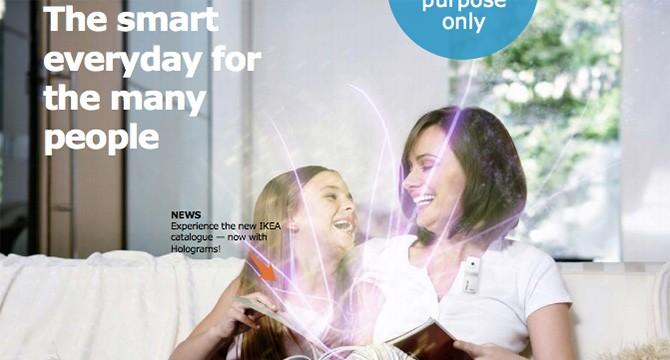 Il catalogo IKEA del futuro avrà gli ologrammi