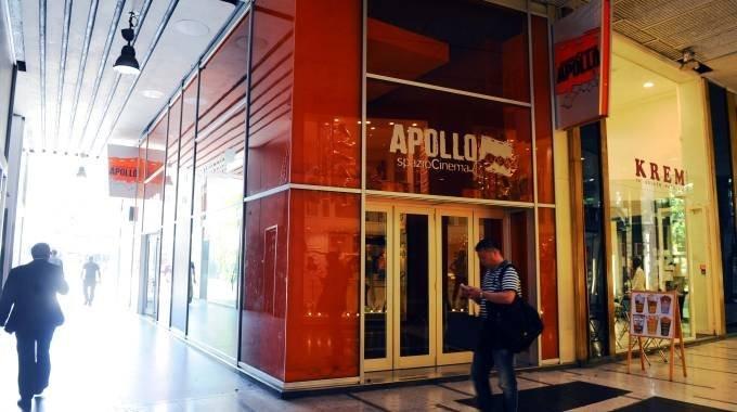 Galleria de Cristoforis e l'ingresso del cinema