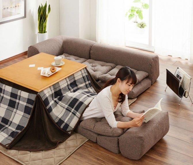 kotatsu japanese heating bed table 28