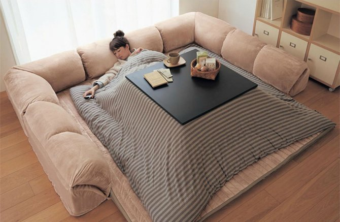 kotatsu japanese heating bed table 31
