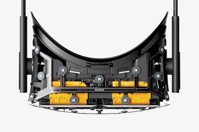 Com'è fatto un occhiale Oculus Rift
