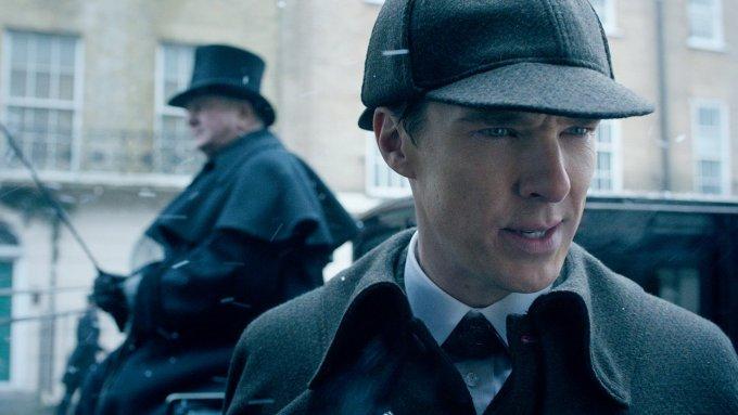 Una scena dello speciale natalizio di Sherlock
